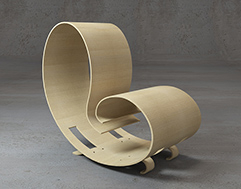 Eco chair - for Andrew World, 2011, Spain