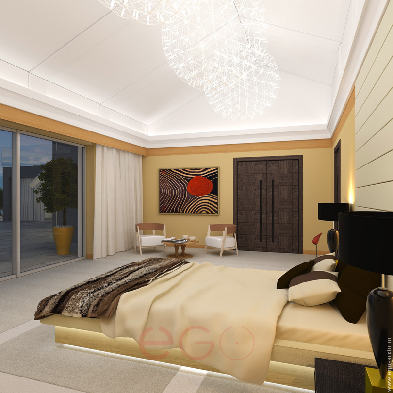 living interiors bedroom Switzerland